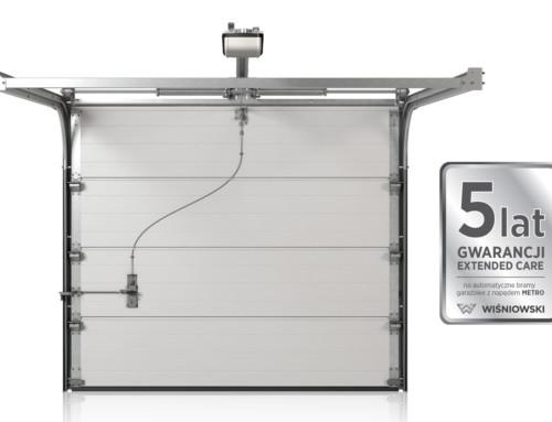 EXTENDED CARE – 5 lat gwarancji na automatyczne bramy garażowe