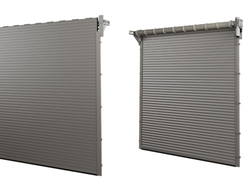 Higher resistance to wind load for the BR-100 roller door